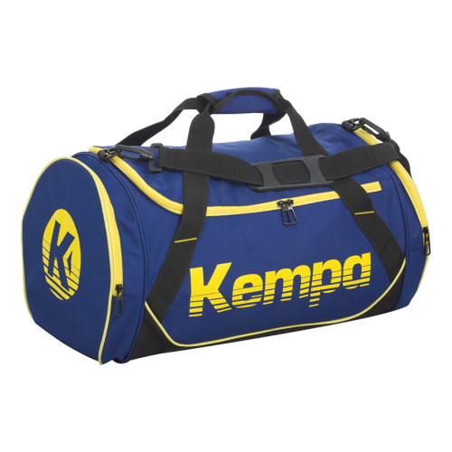 Kempa Sports Bag - Bleu Profond & Jaune