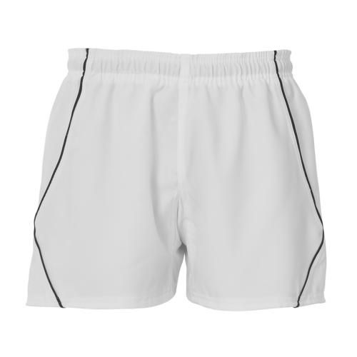 BLK Elite Shorts - Blanc