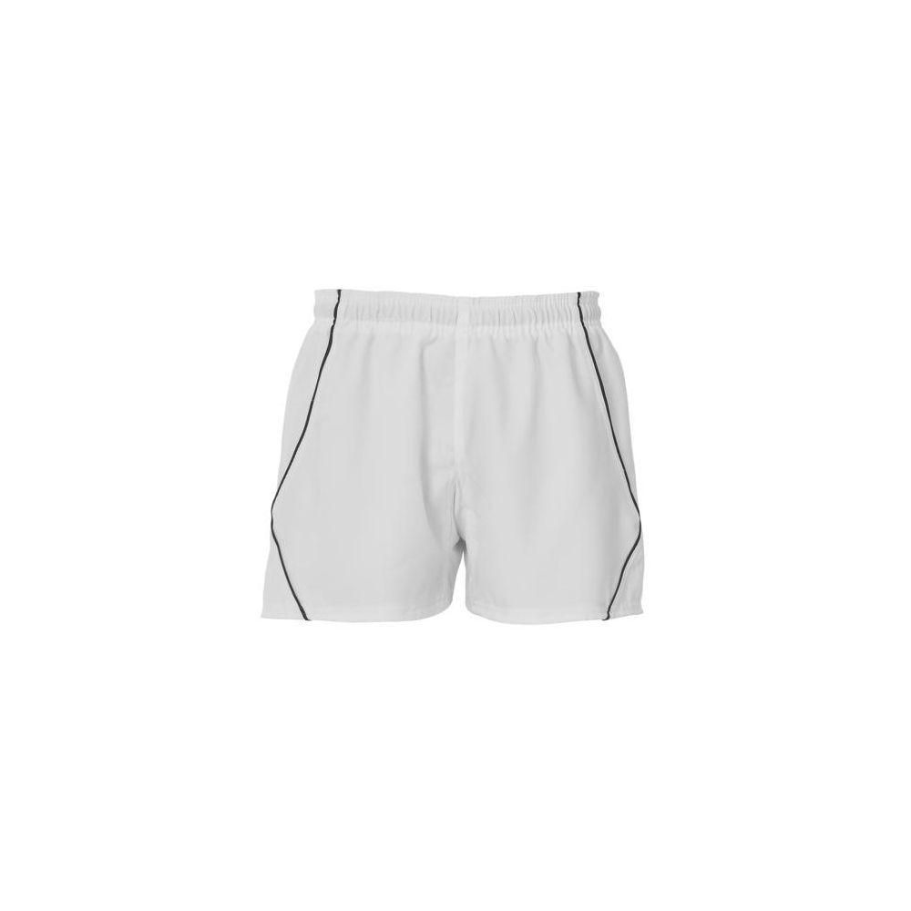 BLK Elite Shorts - Blanc