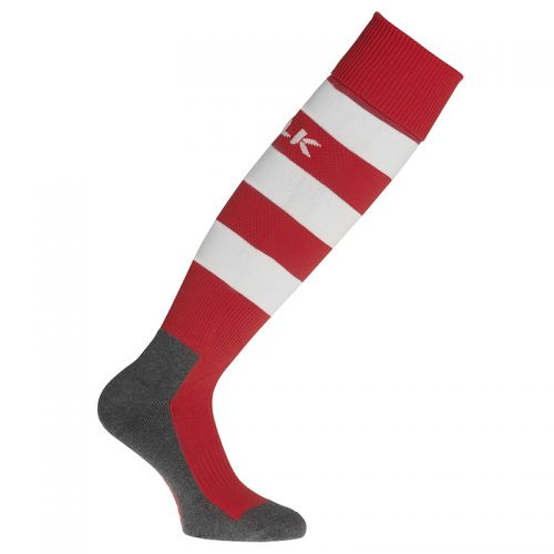 BLK Stripe Socks - Rouge & Blanc