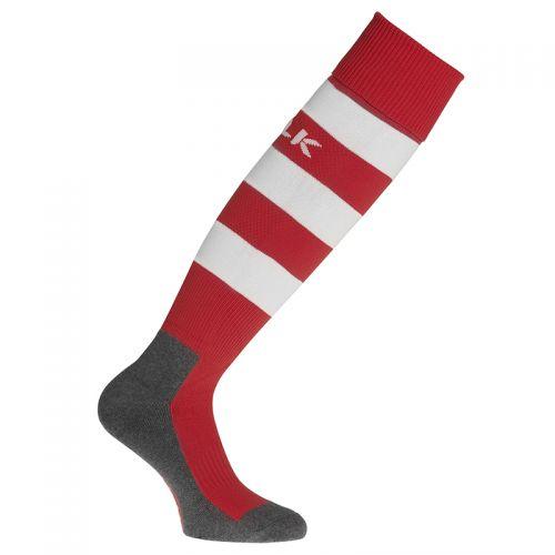 BLK Stripe Socks - Rouge & Blanc