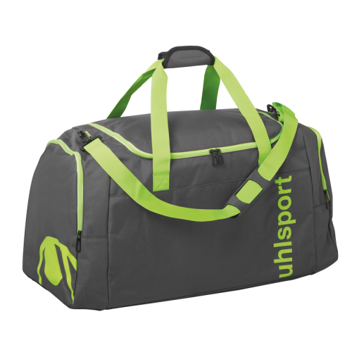 Uhlsport Essential 2.0 Sports Bag - Vert Fluo & Anthracite