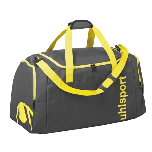 Uhlsport Essential 2.0 Sports Bag - Jaune & Anthracite