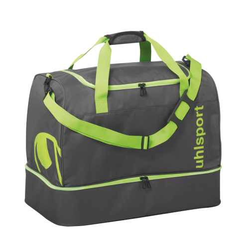 Uhlsport Essential 2.0 Players Bag - Vert Fluo & Anthracite