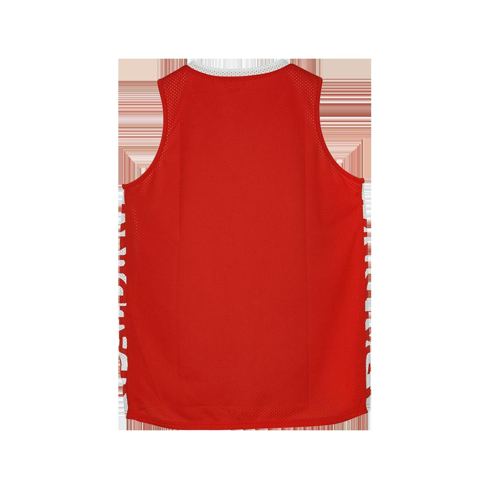 Spalding Essential Maillot Réversible - Rouge & Blanc