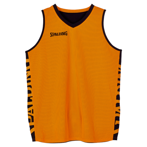 Spalding Essential Maillot Réversible - Noir & Orange