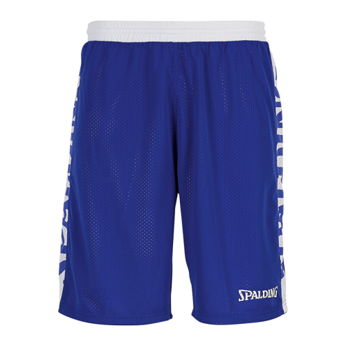 Spalding Essential Short Reversible - Royal & Blanc