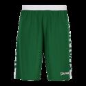 Spalding Essential Short Reversible - Vert & Blanc