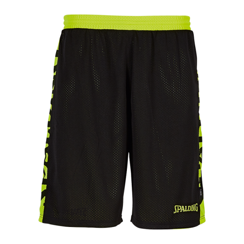 Spalding Essential Short Reversible - Noir & Jaune