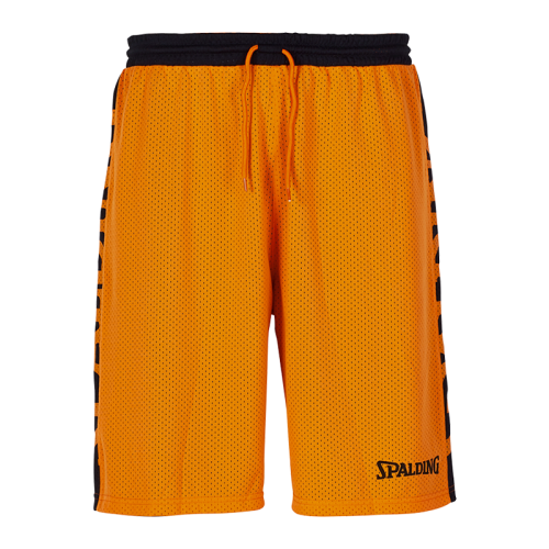 Spalding Essential Short Reversible - Noir & Orange