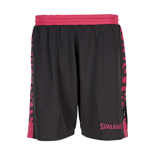 Spalding Essential Short Reversible 4HER  - Noir & Rose