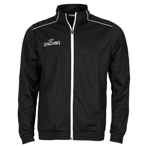 Spalding Team Warm Up Jacket - Noir & Blanc