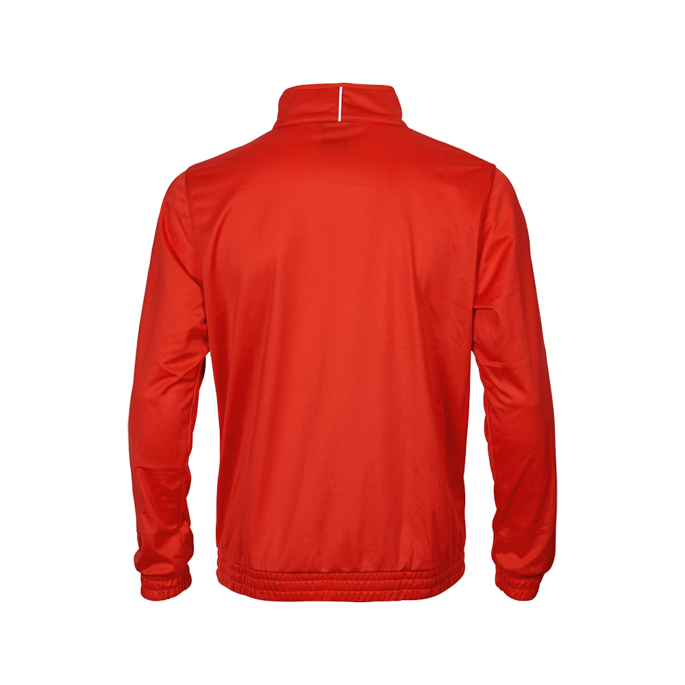 Spalding Team Warm Up Jacket - Rouge & Blanc