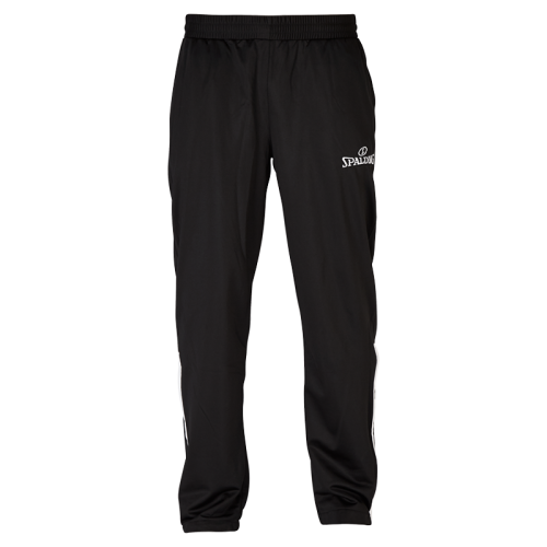 Spalding Team Warm Up Pants - Noir & Blanc