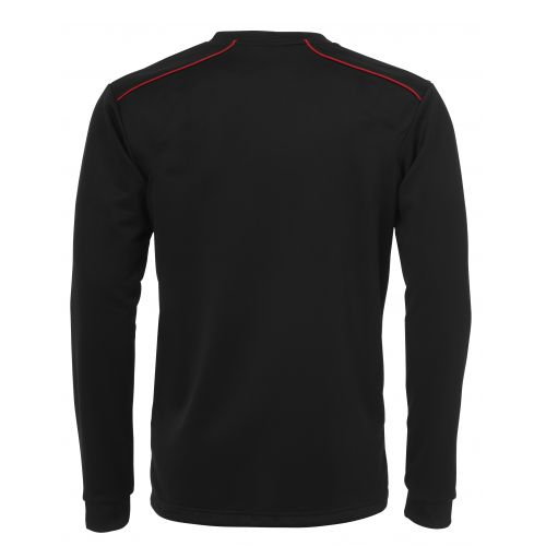 BLK Round Neck Sweater - Noir & Rouge