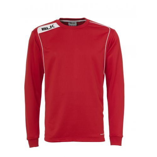 BLK Round Neck Sweater - Rouge & Blanc