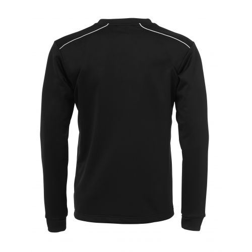 BLK Round Neck Sweater - Noir & Blanc