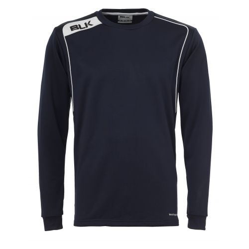 BLK Round Neck Sweater -  Marine & Blanc