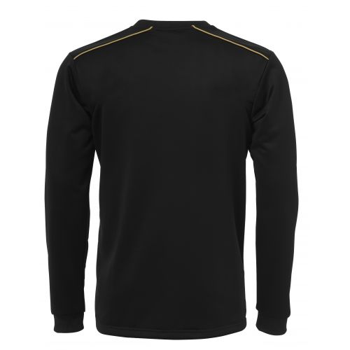 BLK Round Neck Sweater - Noir & Or