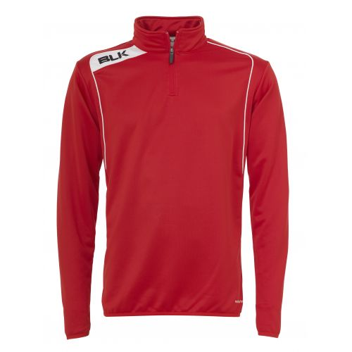 BLK Top 1/4 Zip - Rouge & Blanc