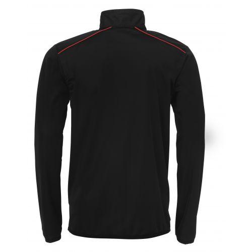 BLK Tracksuit Jacket - Noir & Rouge