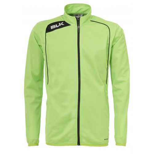 BLK Tracksuit Jacket - Vert Flash & Noir