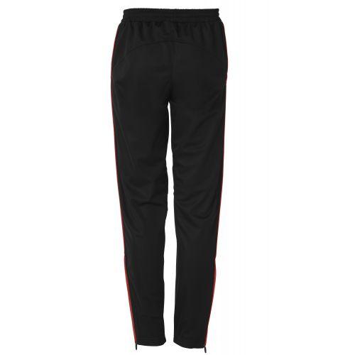 BLK Tracksuit Pant - Noir & Rouge