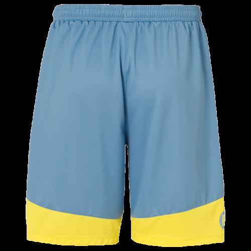 Kempa Emotion 2.0 Shorts - Bleu & Jaune