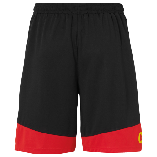 Kempa Emotion 2.0 Shorts - Noir & Rouge