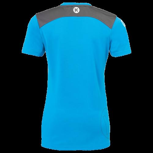 Kempa Emotion 2.0 Femme Shirt - Bleu & Gris