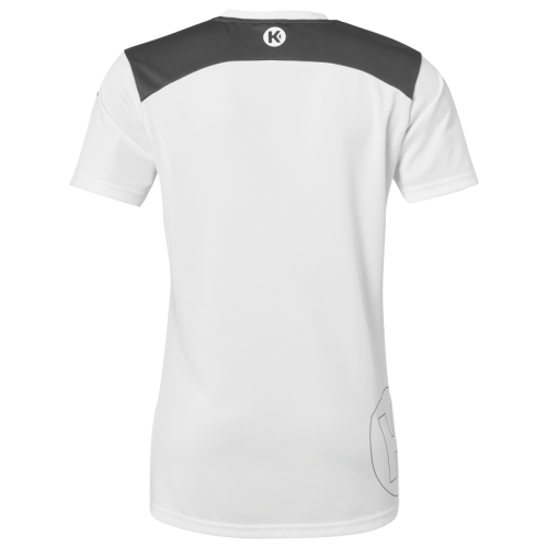 Kempa Emotion 2.0 Femme Shirt - Blanc & Gris
