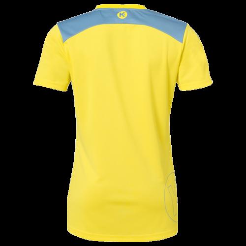Kempa Emotion 2.0 Femme Shirt - Jaune & Bleu