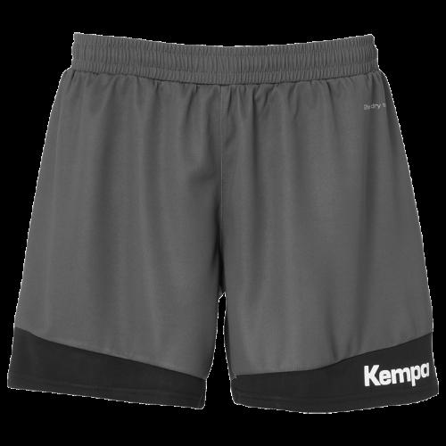 Kempa Emotion 2.0 Femme Shorts - Gris & Noir