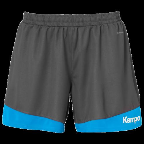 Kempa Emotion 2.0 Femme Shorts - Gris & Bleu