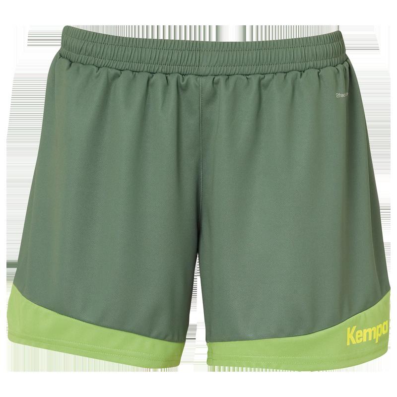 Kempa Emotion 2.0 Femme Shorts - Vert