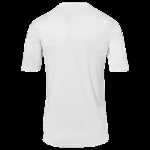 Kempa Emotion 2.0 Poly Shirt - Blanc & Gris