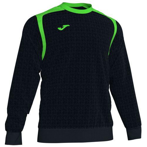 Joma Champion V Sweatshirt - Noir & Vert Fluo