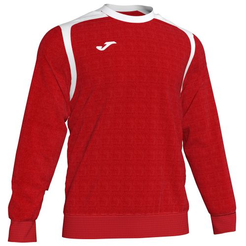 Joma Champion V Sweatshirt - Rouge & Blanc