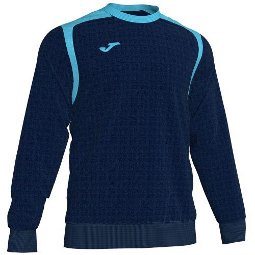 Joma Champion V Sweatshirt - Marine & TurquoiseJoma Champion V Sweatshirt - Marine & Turquoise