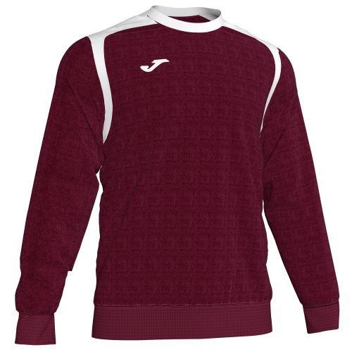 Joma Champion V Sweatshirt - Bordeaux & Blanc