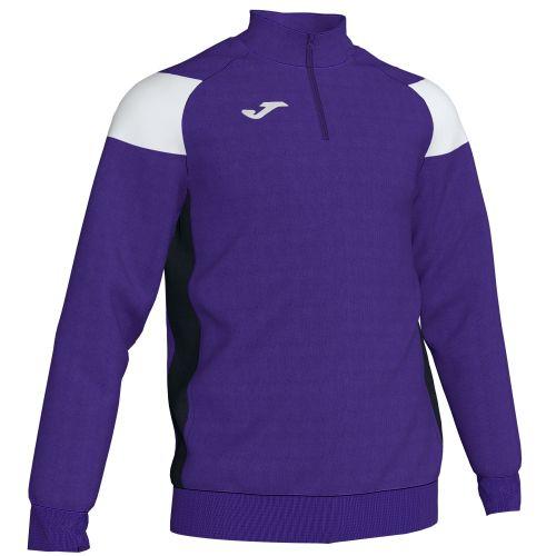 Joma Crew III Sweatshirt - Violet & Blanc