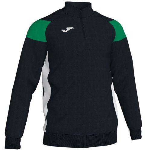 Joma Crew III Sweatshirt - Noir & Vert