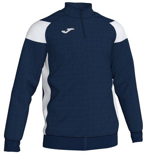 Joma Crew III Sweatshirt - Marine & Blanc