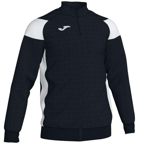 Joma Crew III Sweatshirt - Noir & Blanc