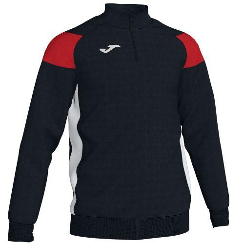 Joma Crew III Sweatshirt - Noir & Rouge