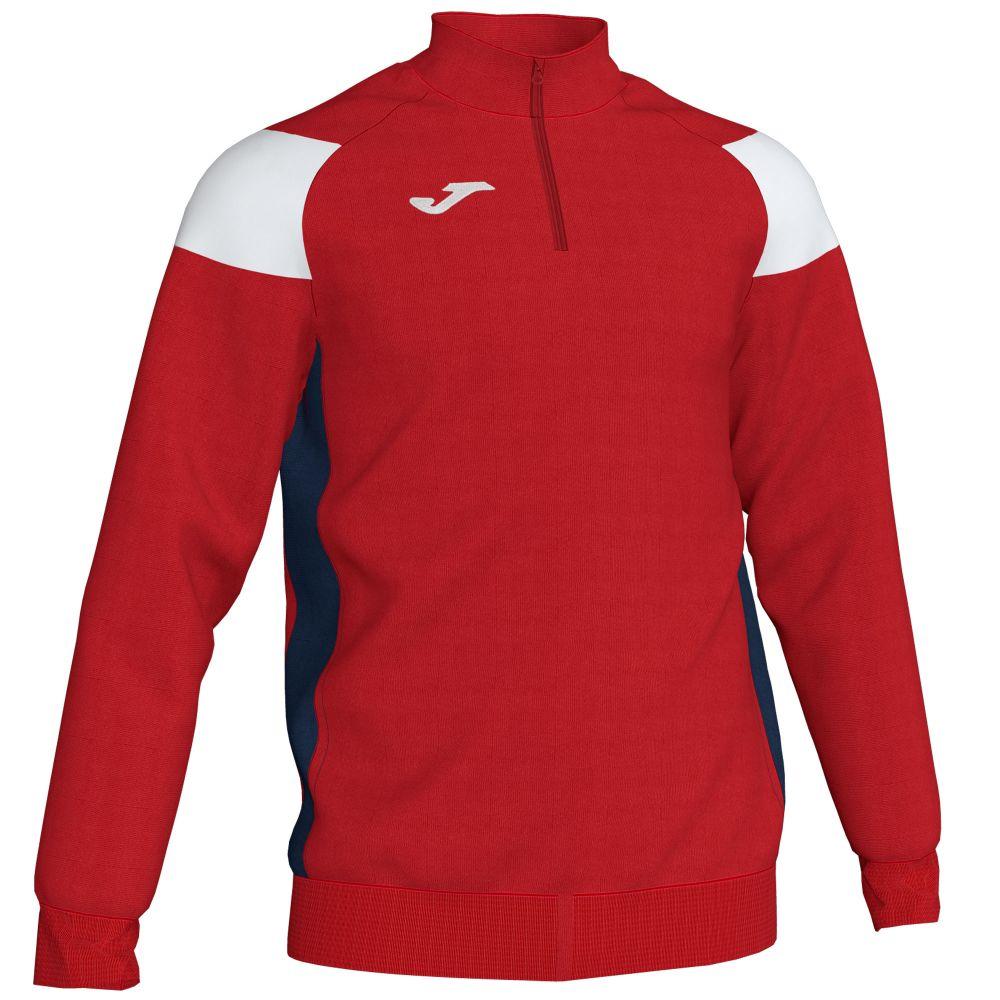 Joma Crew III Sweatshirt - Rouge & Marine