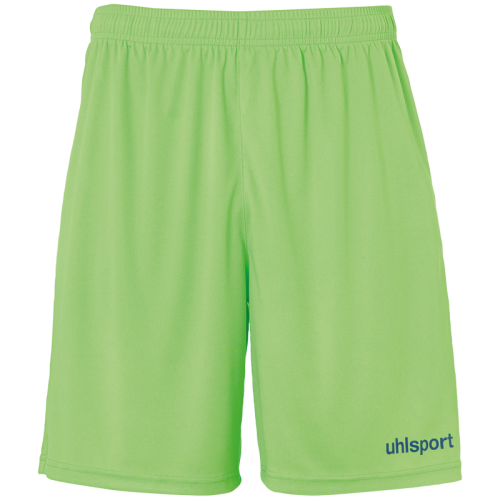 Uhlsport Center Basic Shorts - Vert Flash & Petrole