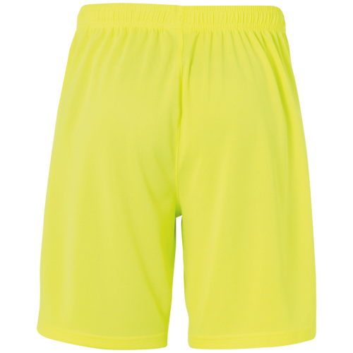Uhlsport Center Basic Shorts - Jaune Fluo & Noir