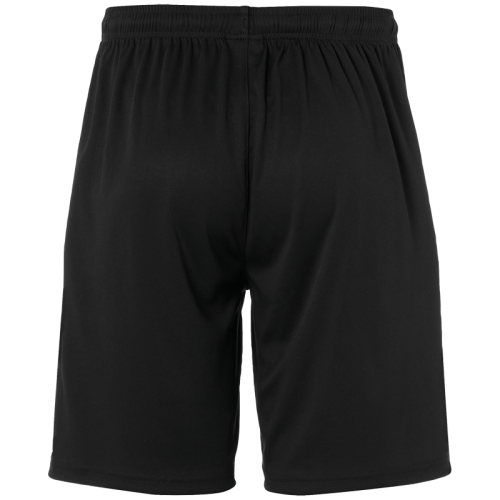 Uhlsport Center Basic Shorts - Noir & Jaune Fluo
