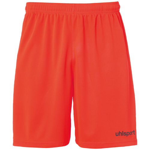 Uhlsport Center Basic Shorts - Rouge Fluo & Noir
